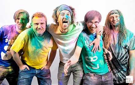 Red Socked Peppers Promofoto 2017 - Red Hot Chili Peppers Tribute aus Hessen